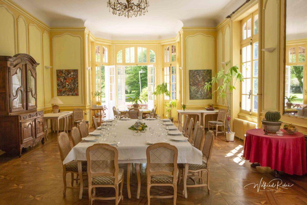 Le Manoir de Sornat - Salle de réception